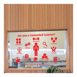 Connected Learners Vinyl Lettering