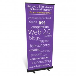 Web 2.0 Roll Up Banner