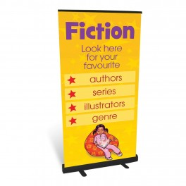 Fiction Roll Up Banner