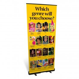Choosing Your Genre Roll Up Banner