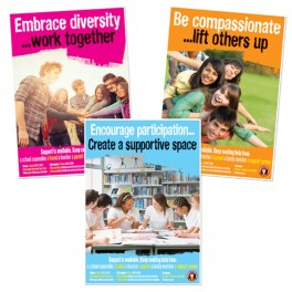 Free Yourself From Bullying Posters Set 3