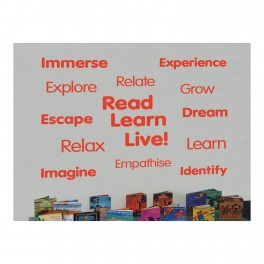 Encourage Reading Word Wall Vinyl Lettering