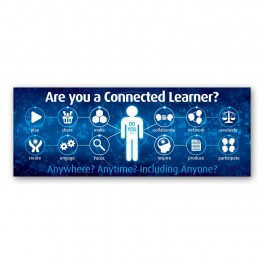 Connected Learner Wall Graphic