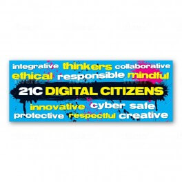 Digital Citizens Wall Graphic