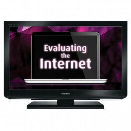Digital Signage: Evaluating the Internet