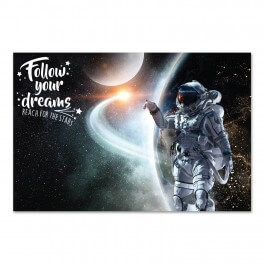 Follow Your Dreams Wall Graphic Mural