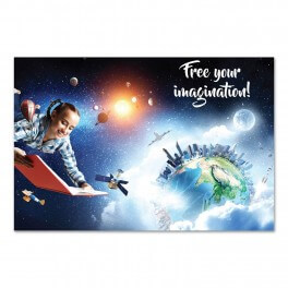 Free Your Imagination Wall Graphic Mural