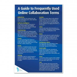 Frequently Used Online Collaboration Terms Poster
