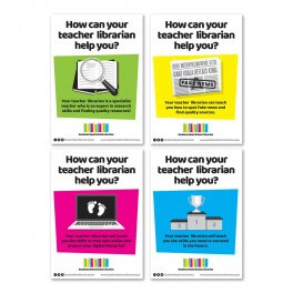How can your Teacher Librarian help you? Posters