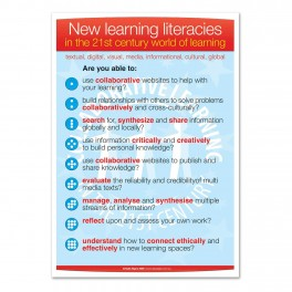 New Learning Literacies Poster