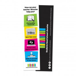 Students Need School Libraries Bookmarks