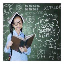 Tomorrow A Leader Wall Graphic Sticker