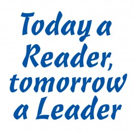 Today A Reader Vinyl Lettering (Large)