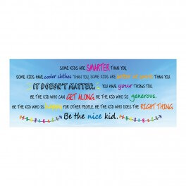 Be the Nice Kid Wall Graphic Sticker