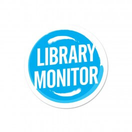 Library Monitor Stickers (Senior) (25)