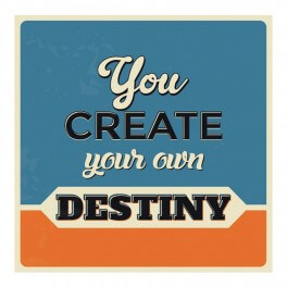 Create Your Own Destiny Wall Graphic Sticker
