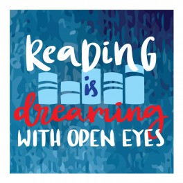 Reading Is Dreaming Wall Graphic Sticker