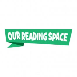 Our Reading Space Printed Vinyl Sticker