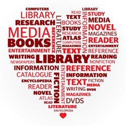 Love Your Library Wordle
