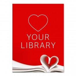 Love Your Library Poster A2
