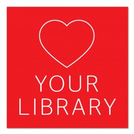 Love Your Library Wall Graphic Sticker