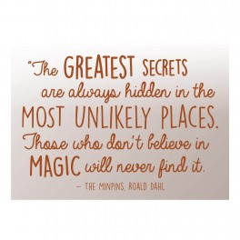 Greatest Secrets Word Wall Vinyl Lettering