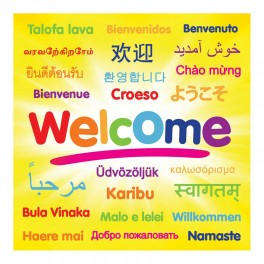 Welcome Junior Wall Graphic Sticker