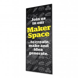 Makerspace Location Wall Graphic