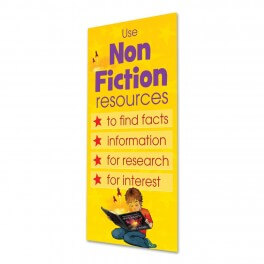 Non Fiction Adhesive Door Graphic